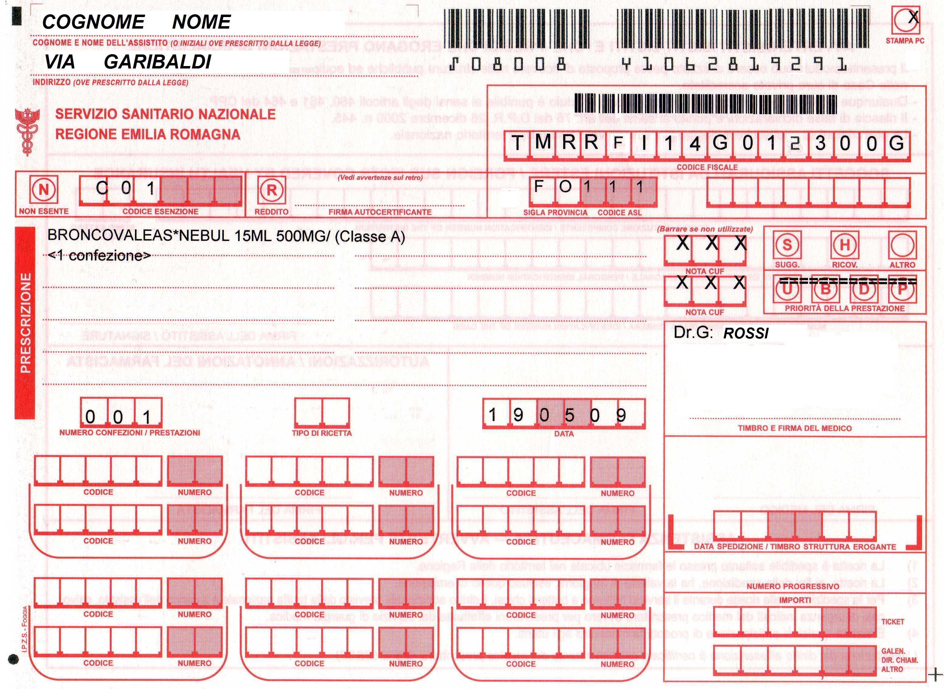Pagamento Ticket Ospedaliero